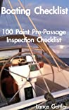 Boating Checklist - 100 Point Pre-Passage Inspection