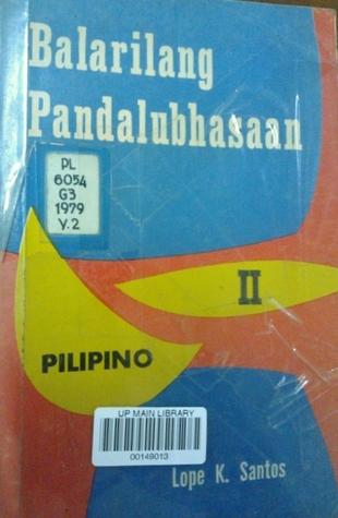 Balarilang Filipino Ebook Download