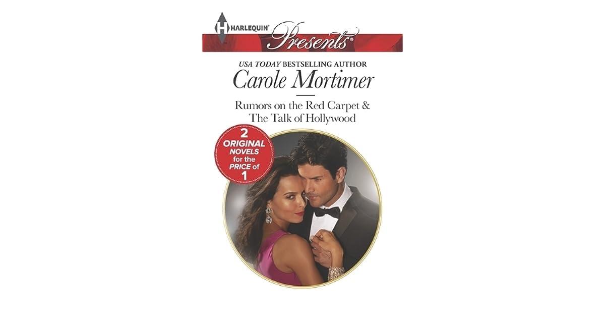 rumors on the red carpet mortimer carole