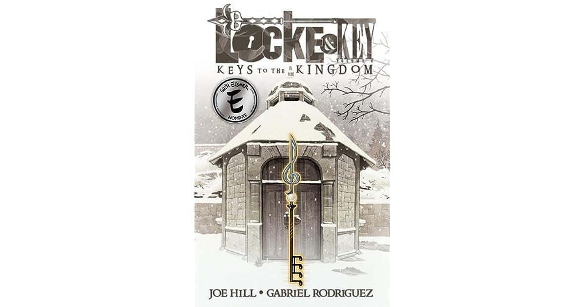 LOCKE /& KEY VOL #4 HARDCOVER KEYS TO KINGDOM Joe Hill IDW Comics HC