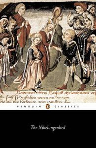 The Nibelungenlied book cover