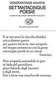 Settantacinque poesie