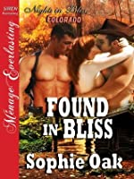 Found in Bliss (Nights in Bliss, Colorado, #5)