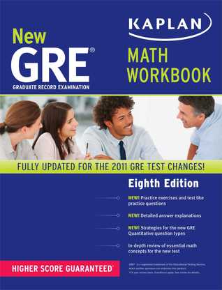New GRE Math Workbook by Kaplan Inc