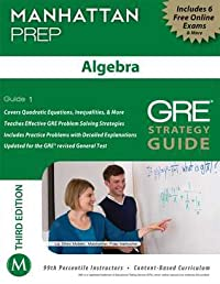Algebra GRE Strategy Guide