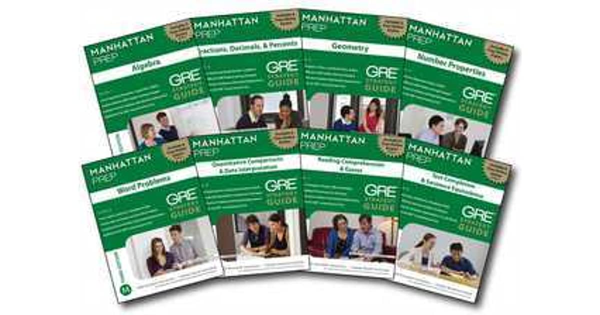 Manhattan Prep Gre Set Of 8 Strategy Guides Pdf