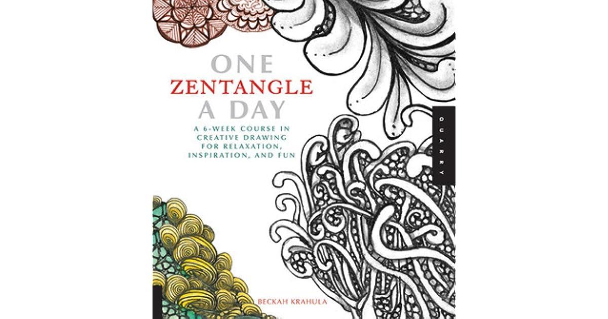 zentangle 9 workbook edition adding beautiful colors with mixed media design originals