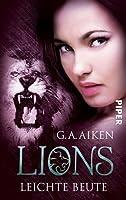 Leichte Beute (Lions, #3)