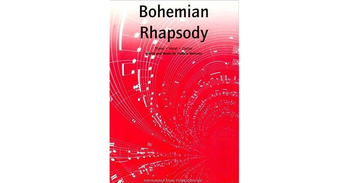Bohemian Rhapsody Pianovocalguitar By Freddie Mercury