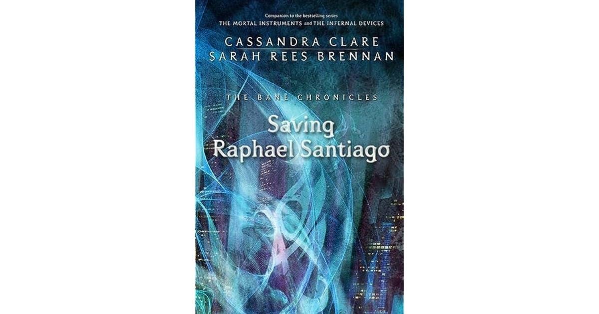 Saving Raphael Santiago Pdf