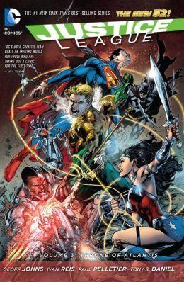 Justice League, Volume 3: Throne of Atlantis