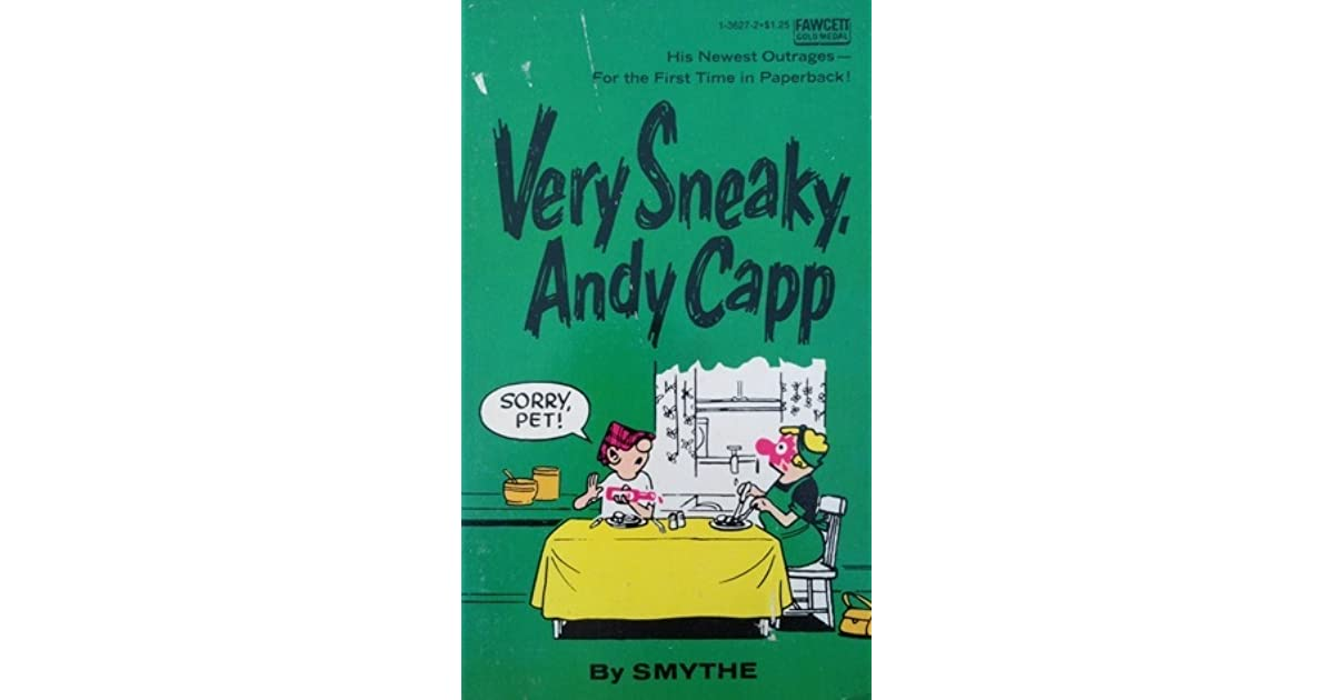 Very Sneaky Andy Capp By Reg Smythe