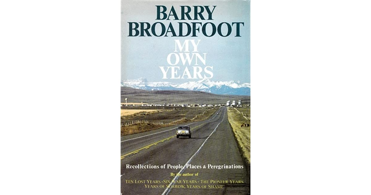 ten lost years 1929 1939 broadfoot barry