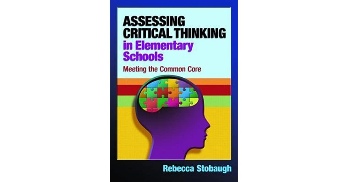 Critical thinking in elementary school