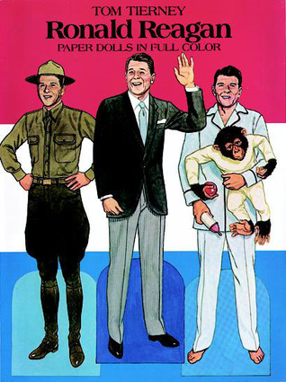 Ronald Reagan Paper Dolls in Full Color