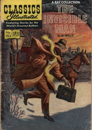 Classics Illustrated 153 of 169 : The Invisible Man