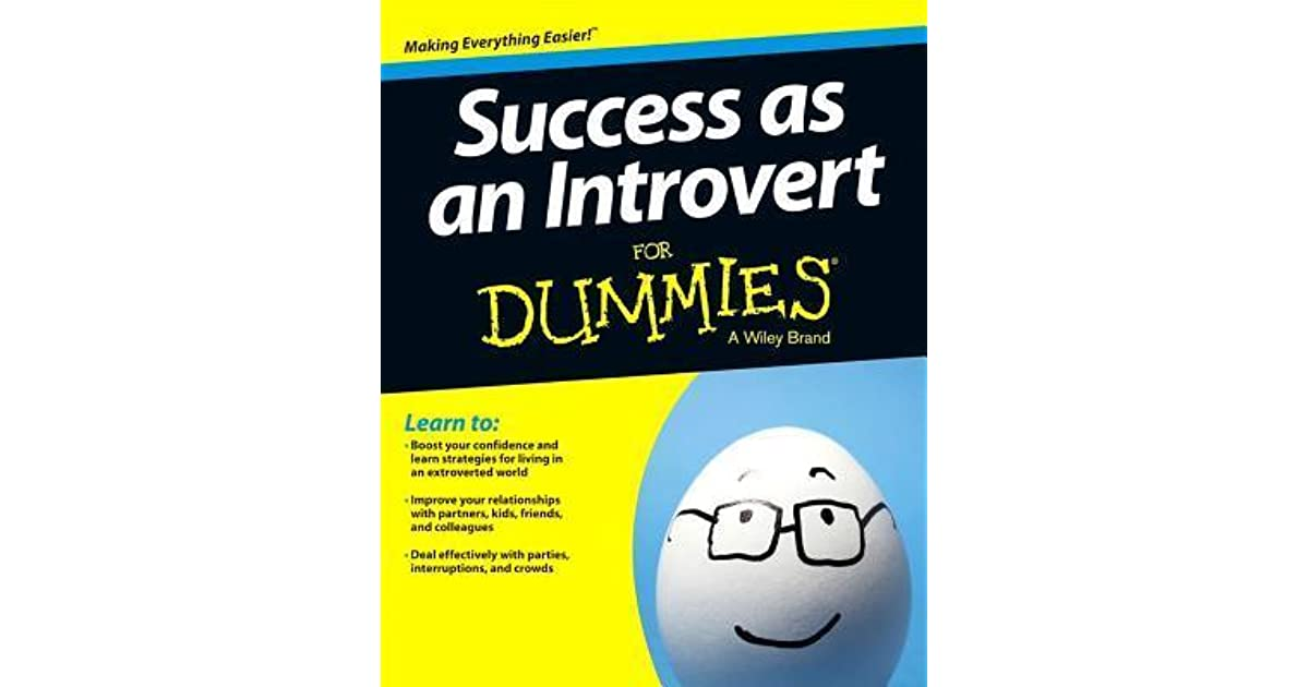 success as an introvert for dummies pdf free download