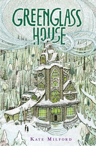 "Book cover of ""Greenglass House"" by Kate Milford"