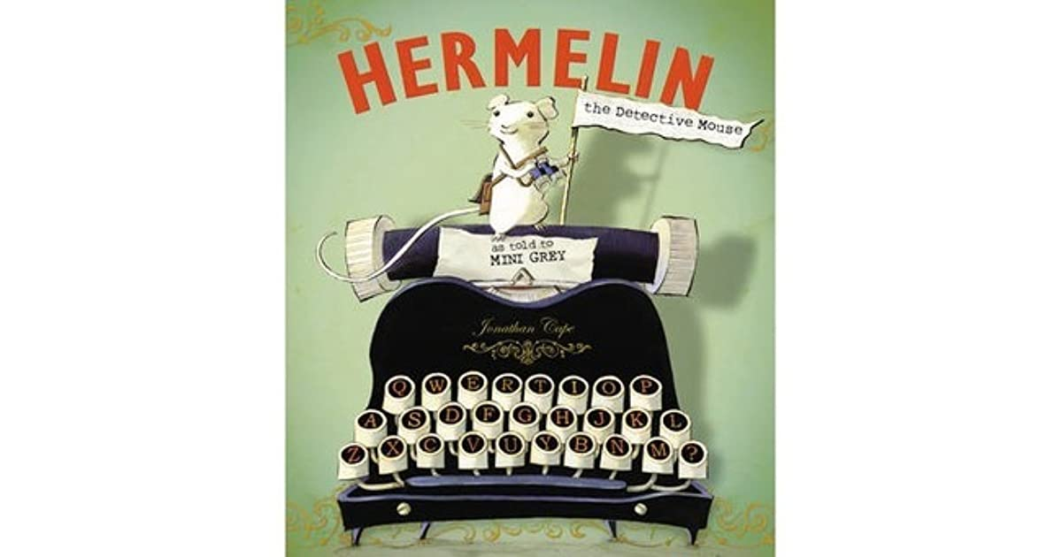 Image result for hermelin the detective mouse