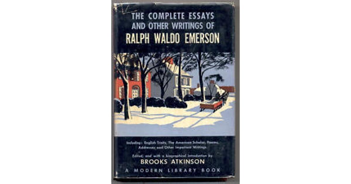 emerson essays online