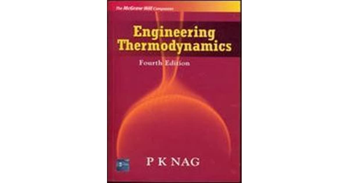Engineering Thermodynamics By Pk Nag 4th Edition Pdf