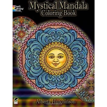 Mystical Mandala Coloring Book by Alberta Hutchinson