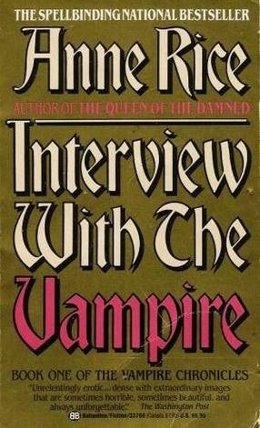 Image result for Interview with a Vampire by Anne Rice