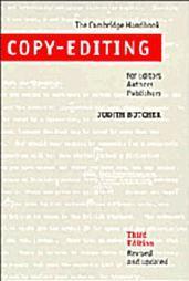 Copy-Editing: The Cambridge Handbook for Editors, Authors