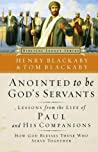 Anointed to Be God's Servants: How God Blesses Those Who Serve Together