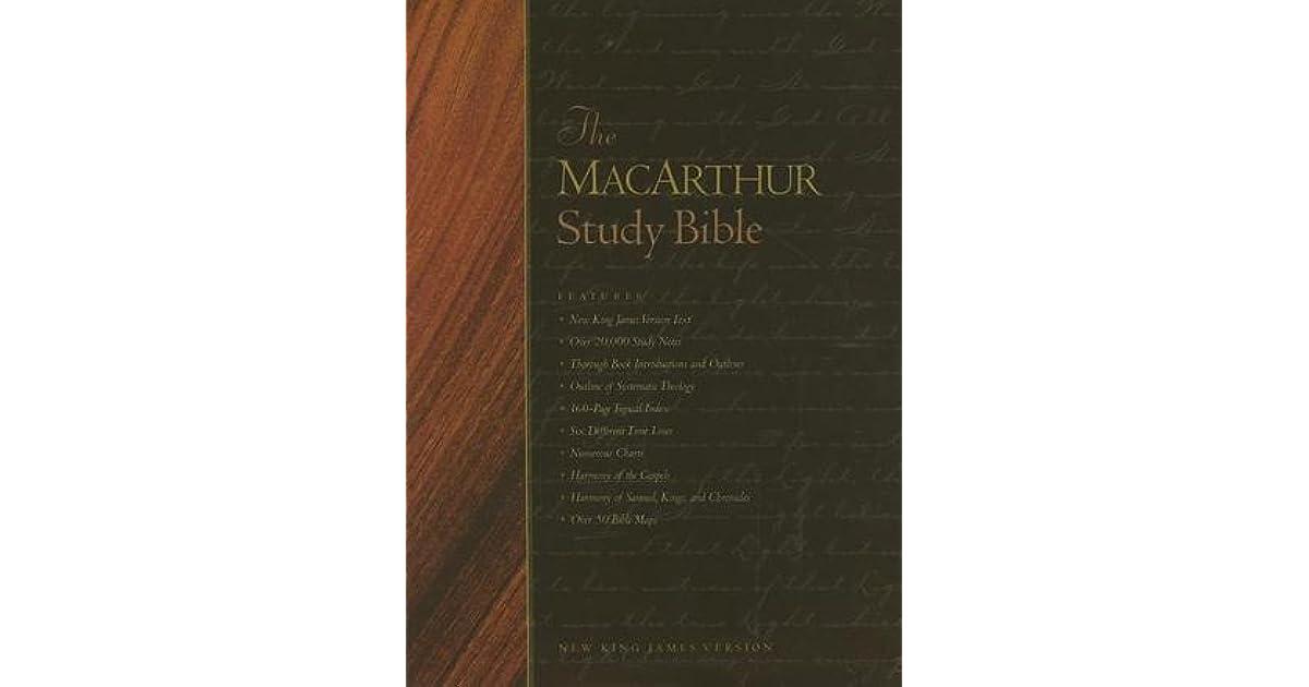 Nkjv Macarthur Study Bible - Free downloads and reviews ...