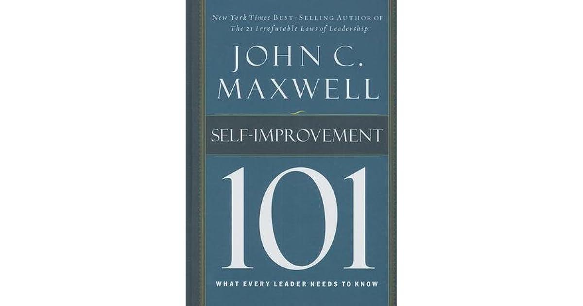 Attitude 101 John Maxwell Pdf