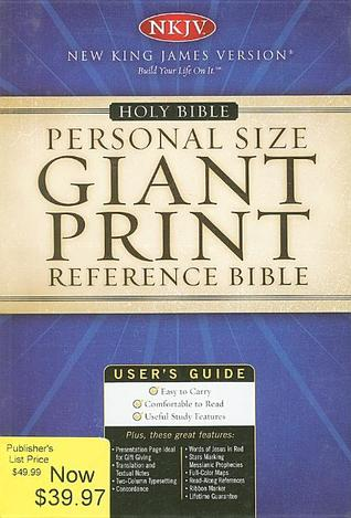 Personal Size Giant Print Reference Bible-NKJV