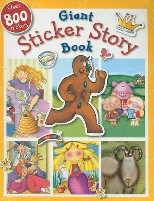 Busy Kids My Giant Sticker Story Book  by  Make Believe Ideas