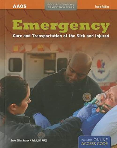 emergency care and transport of the sick and injured by american rh goodreads com