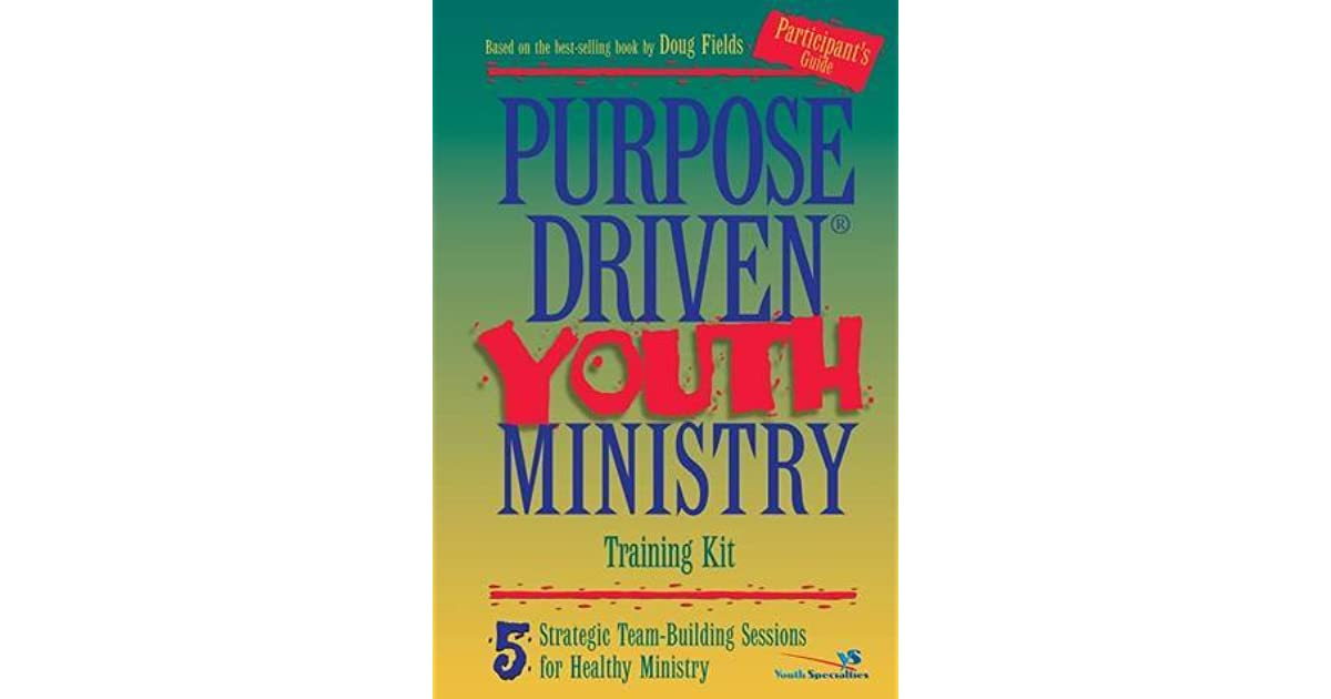 understanding a purpose driven youth ministry (1) to know and understand the gospel story, which explains the problem of sin and the need for a savior core students are committed to doing ministry--they are serving because of christ some ideas borrowed from doug fields, purpose driven youth ministry (grand rapids, michigan: zondervan, 2009), 91.