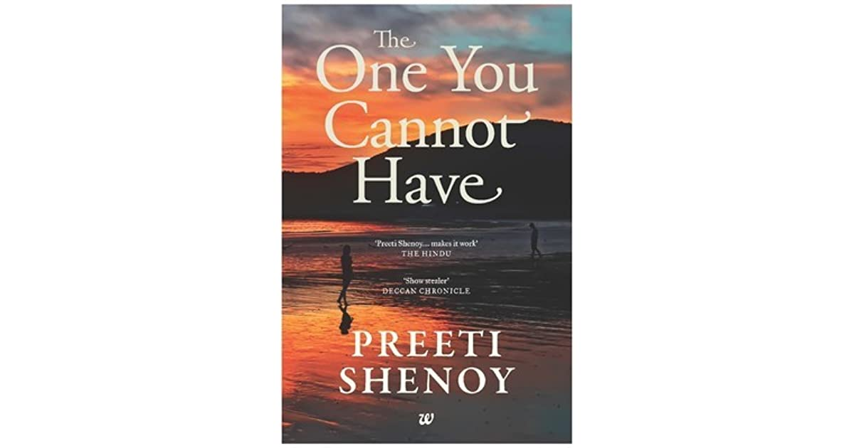 You the shenoy preeti ebook have cannot one