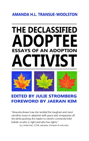 The Declassified Adoptee by Amanda H.L. Transue-Woolston