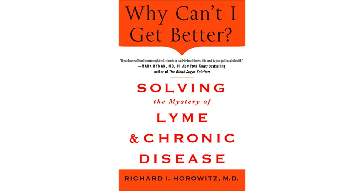 how can i get better an action plan for treating resistant lyme chronic disease