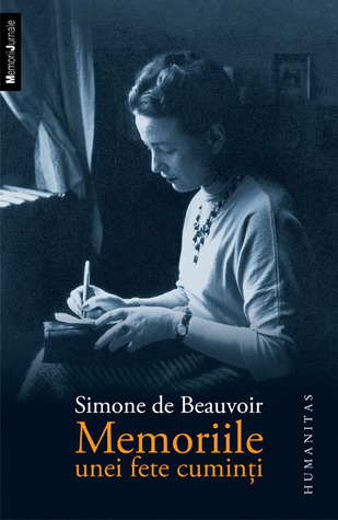 Memoriile unei fete cuminți by Simone de Beauvoir