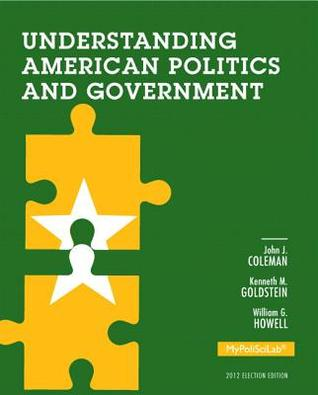 New Mylab Political Science Without Pearson Etext -- Standalone Access Card -- For Understanding American Politics and Government, 2012 Election Edition
