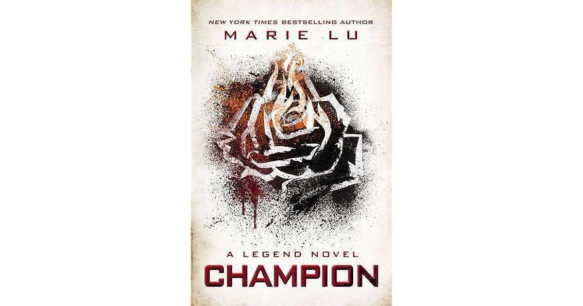 Champion Legend 3 By Marie Lu