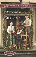 A Family for Christmas (Texas Grooms, #3)