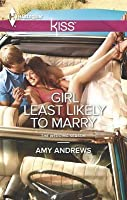 Girl Least Likely to Marry (The Wedding Season, #2)