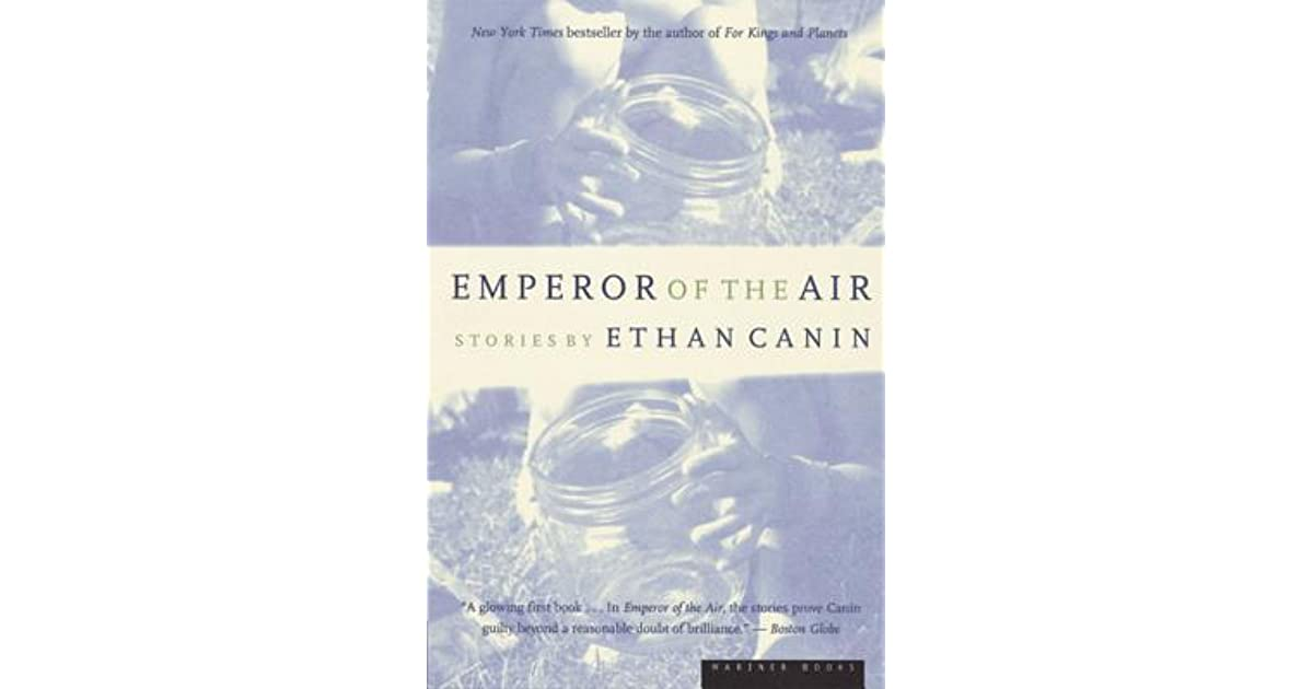 the emperor of the air An elderly high school science teacher is driven to desperate and outrageous acts one night to ensure the safety of an ancient but diseased elm tree in his front yard.