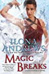 Book cover for Magic Breaks (Kate Daniels, #7)
