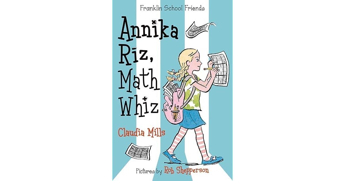 Annika Riz, Math Whiz by Claudia Mills