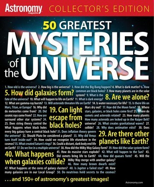 50 Greatest Mysteries of the Universe