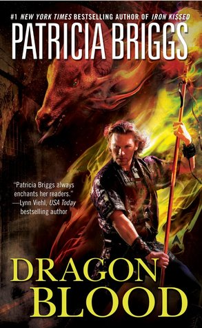 Image result for book cover dragon blood patricia briggs