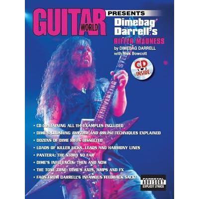 Guitar World Presents Dimebag Darrell's Riffer Madness: Book
