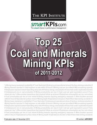 Top 25 Coal and Minerals Mining KPIs of 2011-2012